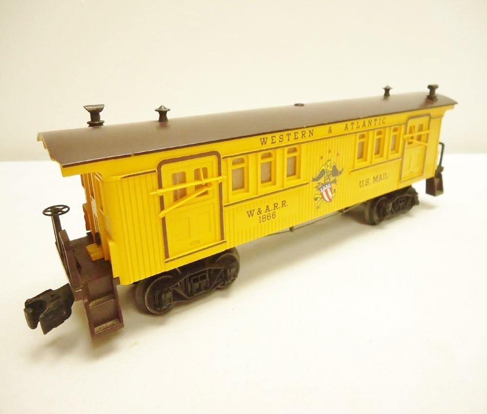 3: ABT: Lionel #1866 W&A General Baggage/Scarce Perf OB - 2