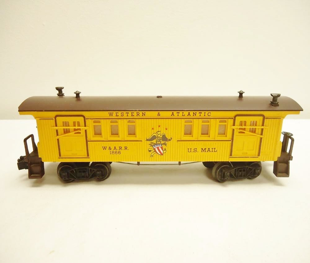 3: ABT: Lionel #1866 W&A General Baggage/Scarce Perf OB - 3
