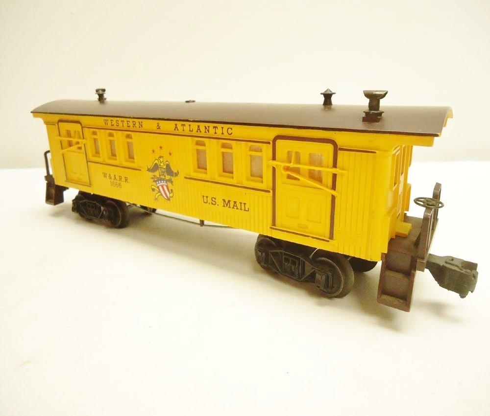 3: ABT: Lionel #1866 W&A General Baggage/Scarce Perf OB - 4