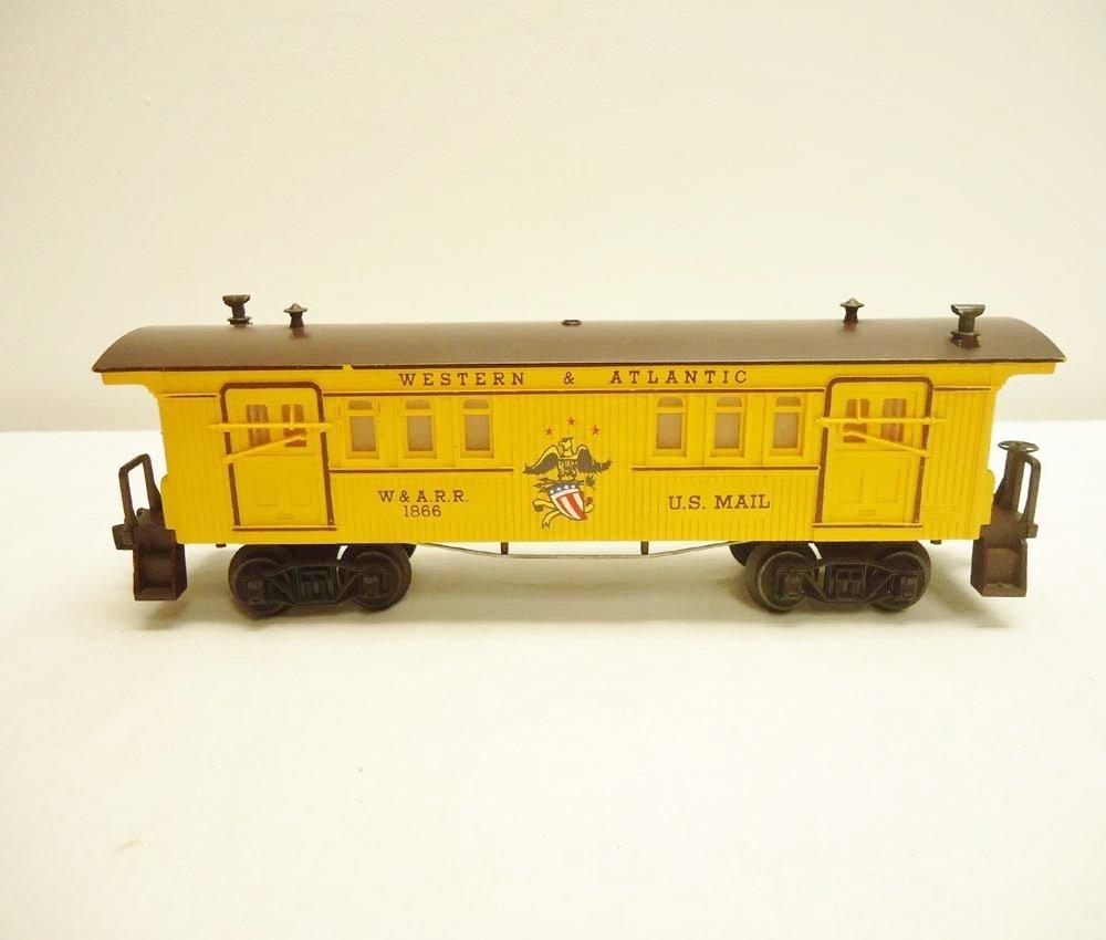 3: ABT: Lionel #1866 W&A General Baggage/Scarce Perf OB - 7