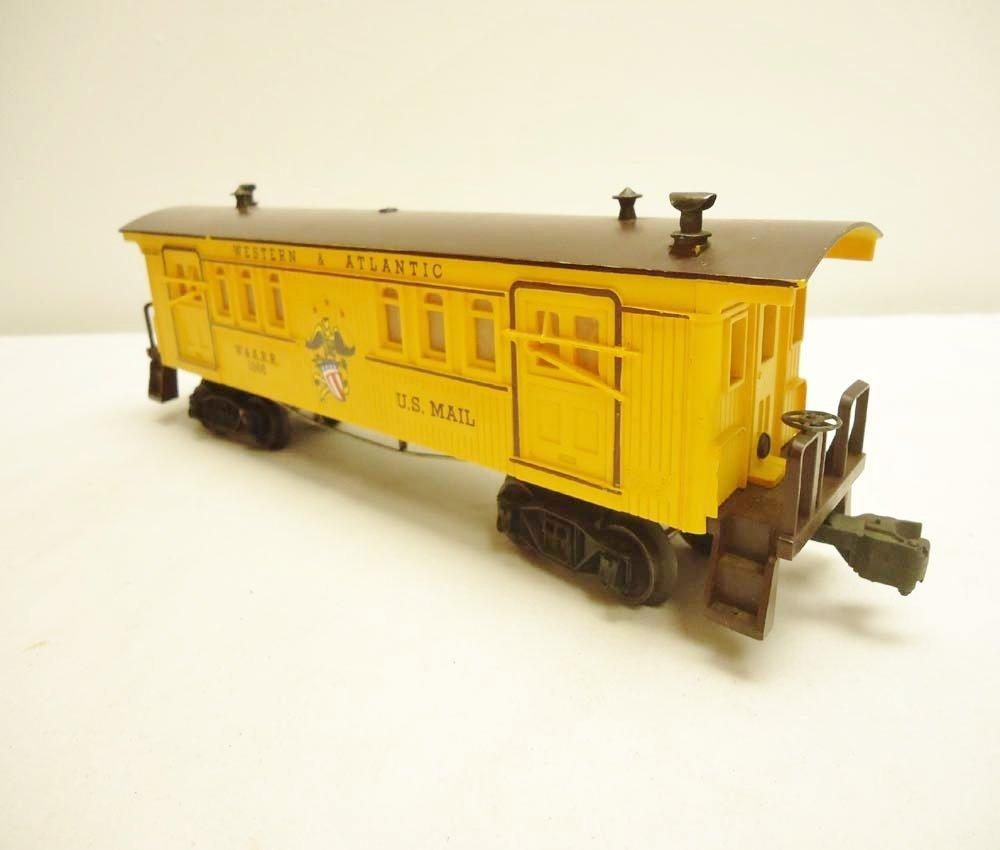 3: ABT: Lionel #1866 W&A General Baggage/Scarce Perf OB - 8