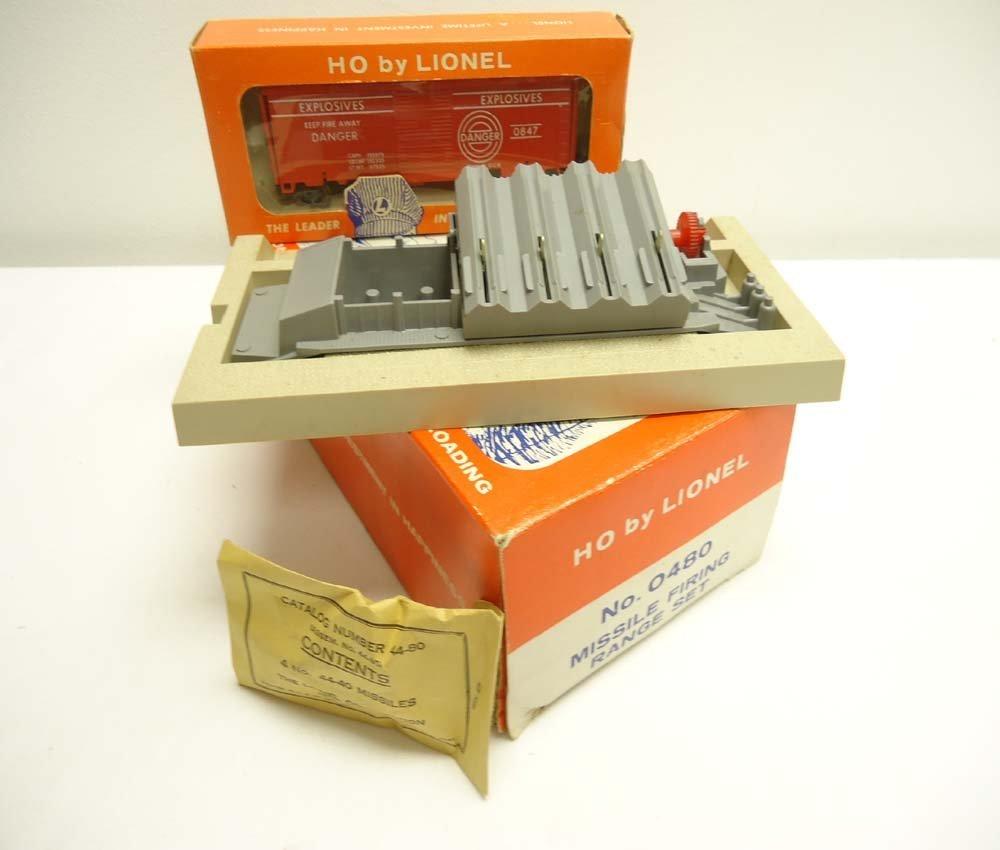 6: ABT: Great Lionel HO #0480 Missile Firing Range Set/