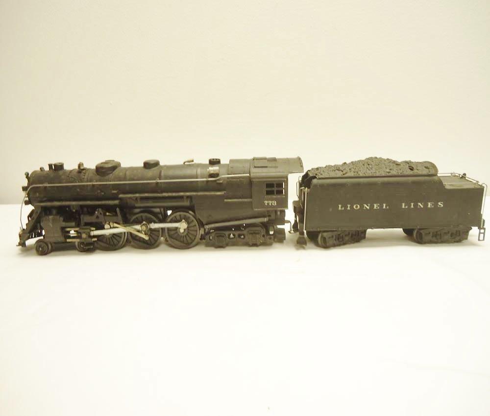 50: ABT: Nice Lionel #773 1950 Hudson & #2426W Diecast  - 3