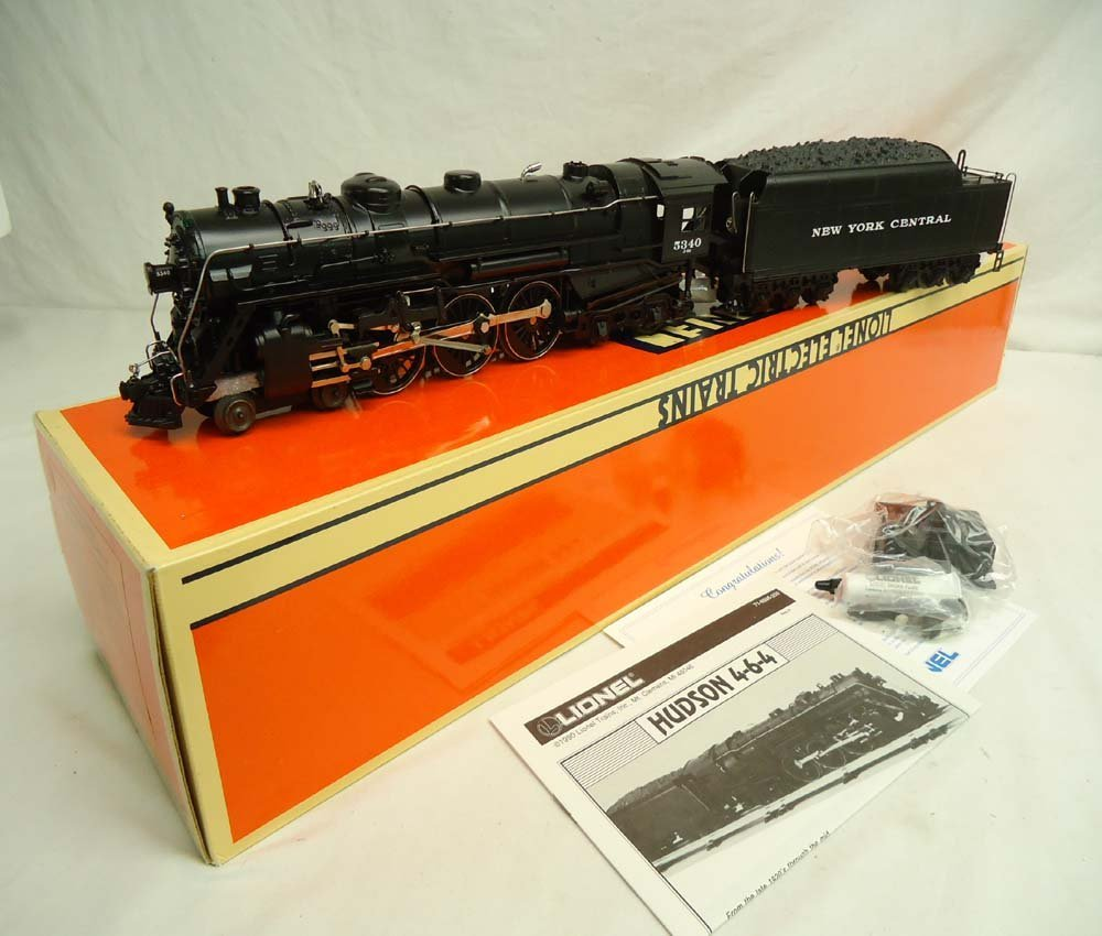 1: ABT: Mint Lionel #18005 (700E) Scale NYC Hudson Engi