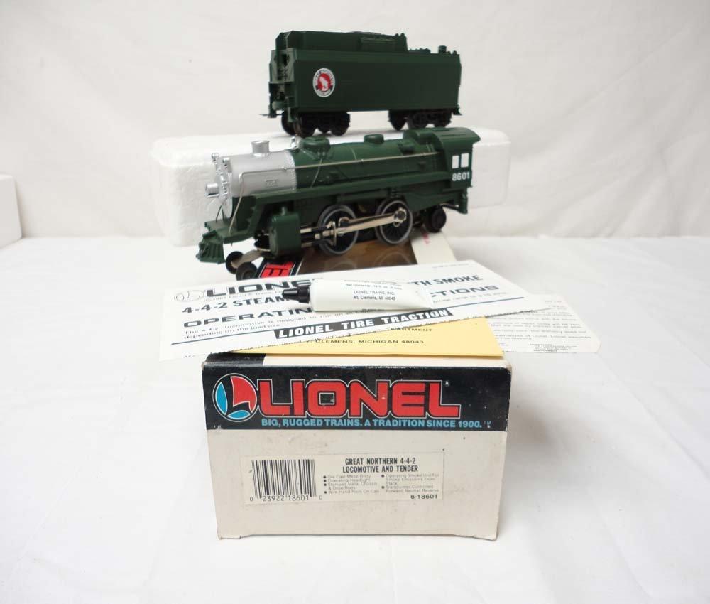 4: ABT: Lionel #18601 Great Northern Steam 4-4-2 Engine