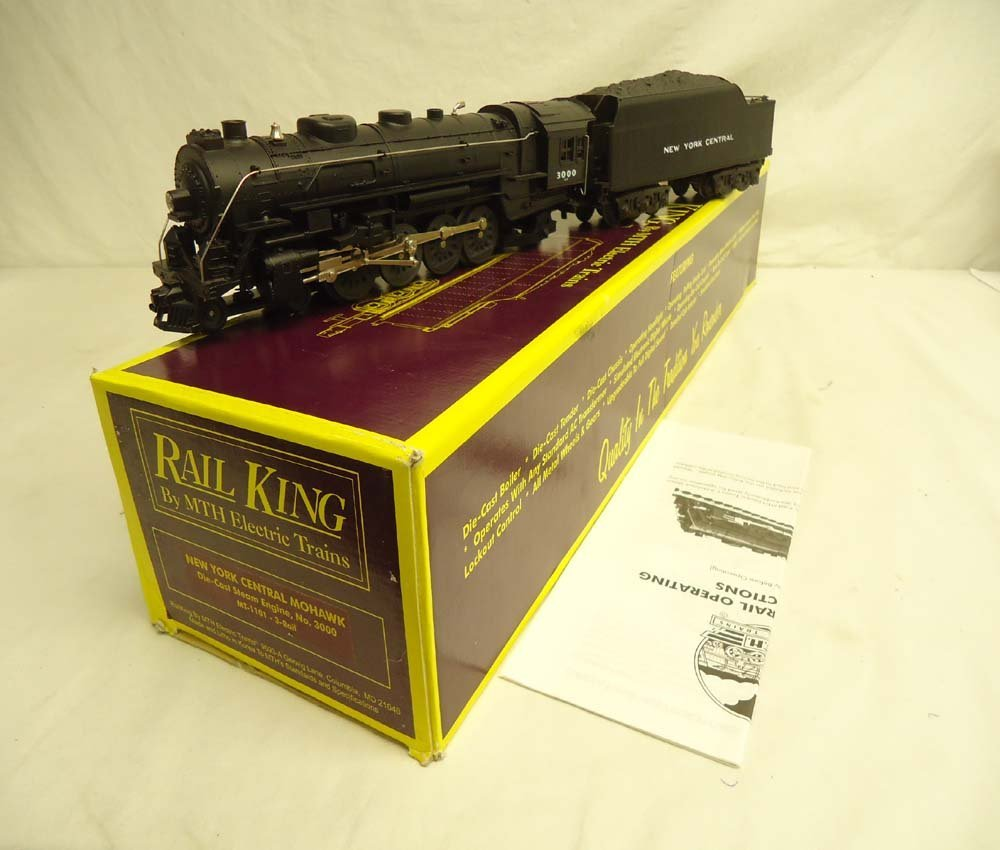 9: ABT: Mint MTH MT-1101 (3000) New York Central Mohawk