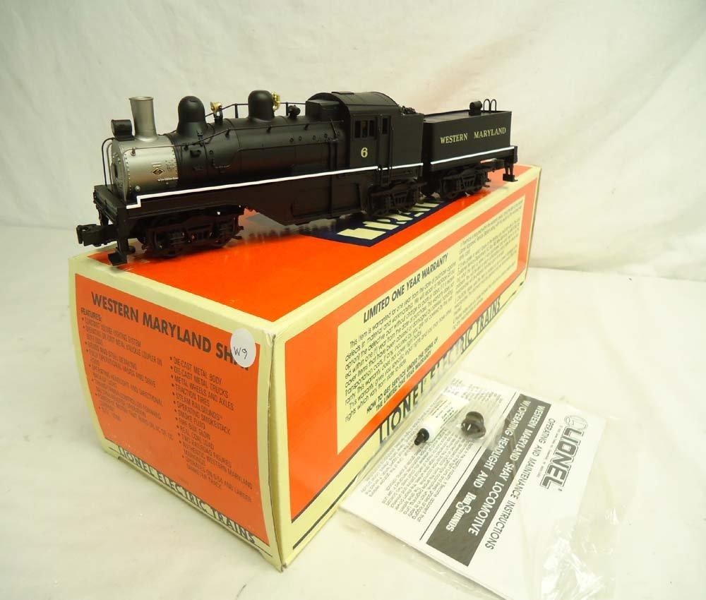 10: ABT: Mint Lionel #18023 Western Maryland Shay Steam