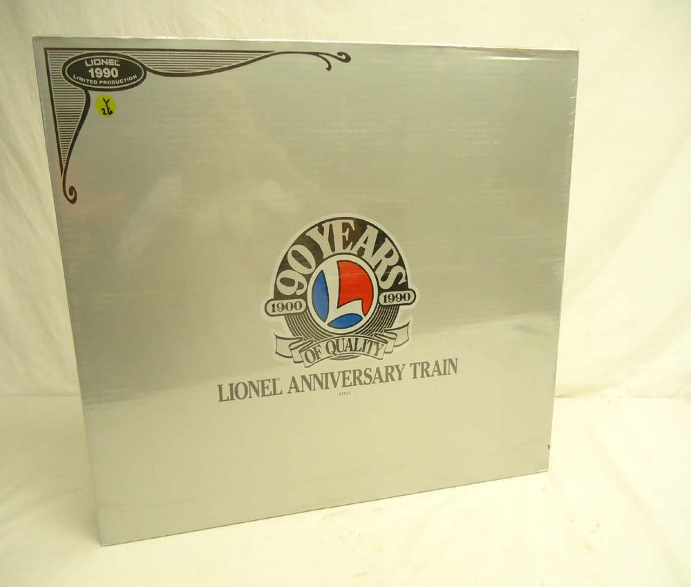 12: ABT: Mint/Sealed Lionel #11715 90th Anniversary Tra