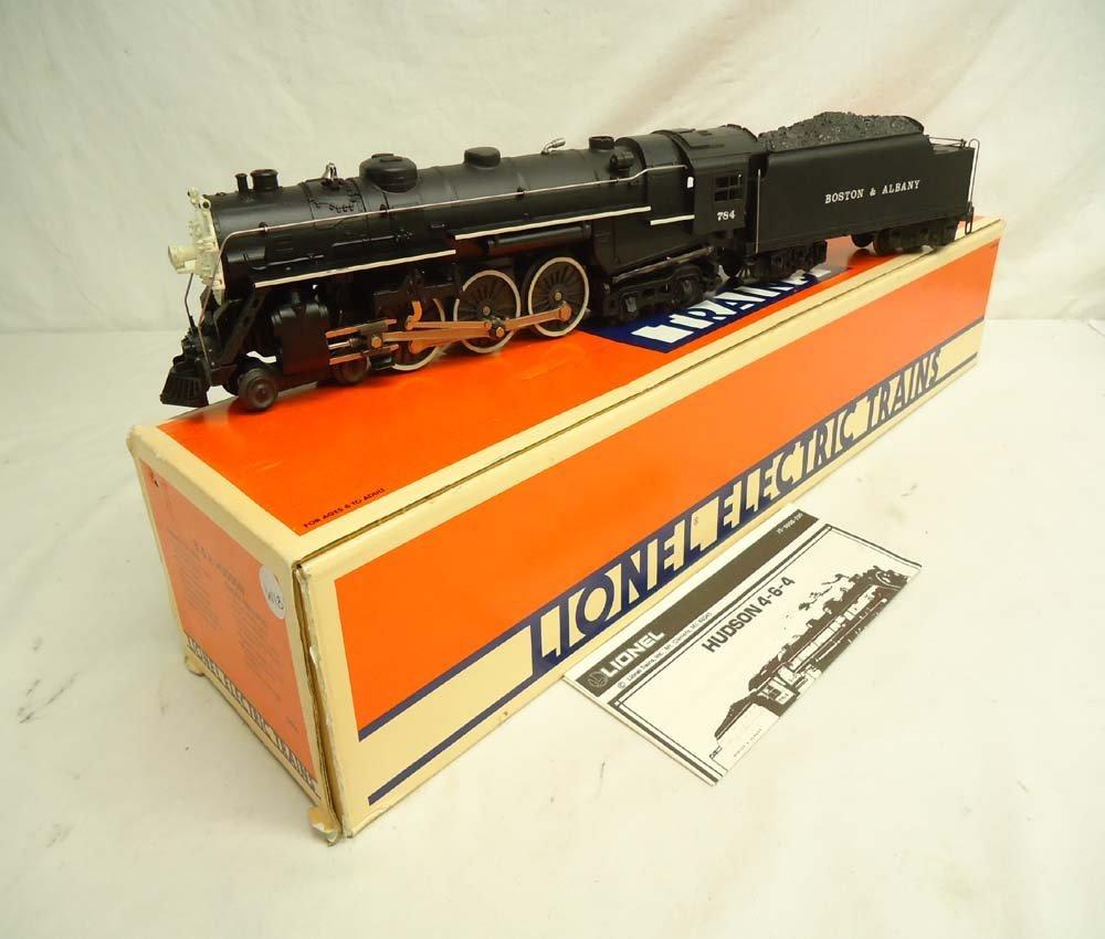 15: ABT: Lionel #8606 Boston & Albany #784 Hudson Steam