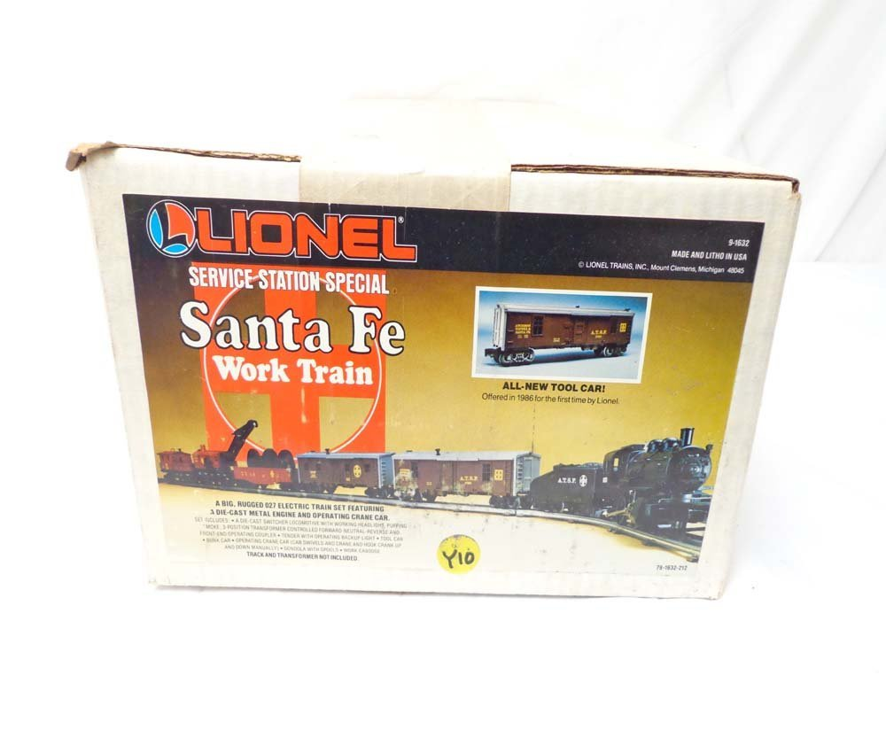 18: ABT: Mint/Sealed Lionel #1632 Santa Fe Steam SSS Wo