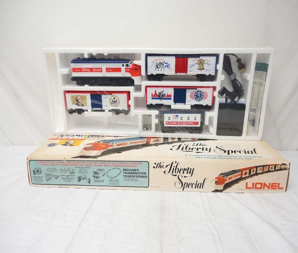 22: ABT: Lionel #1577 Liberty Special Set/OB