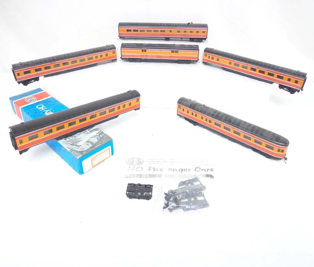 16: ABT: HO Con-Cor: 6 SP Daylight Passenger Cars