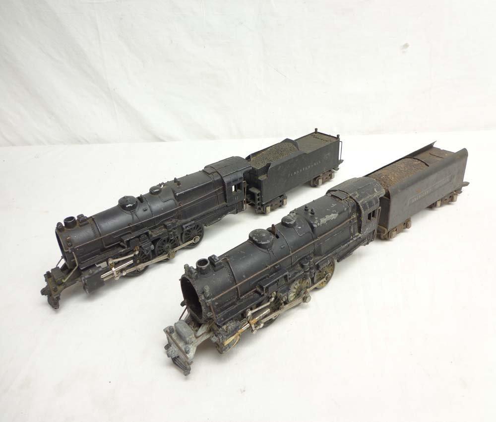 12: ABT: 2 AF #561 K-4 Steam Engines & Tenders