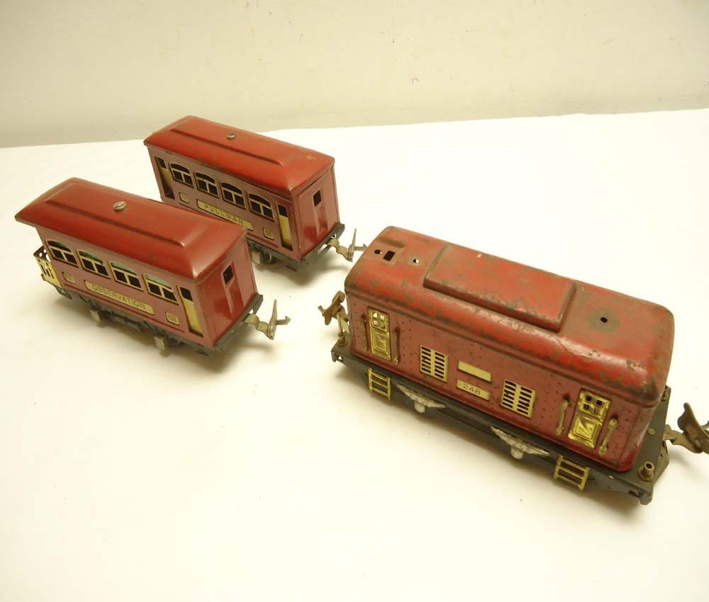 21: ABT: Lionel #248 Electric and #629 Pullman and #630