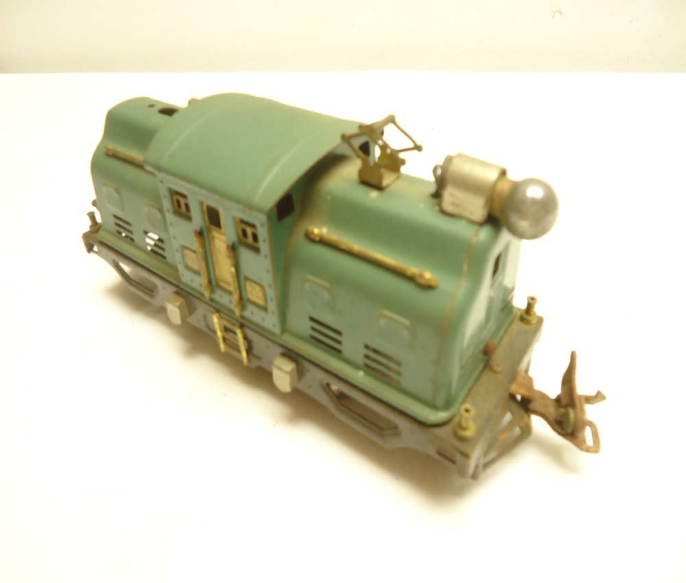22: ABT: Lionel #252 Green Electric