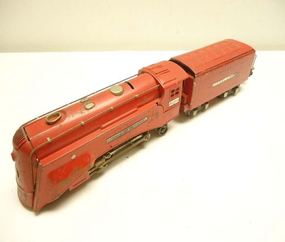 24: ABT: Lionel #264E Red Comet Commodore Vanderbilt St