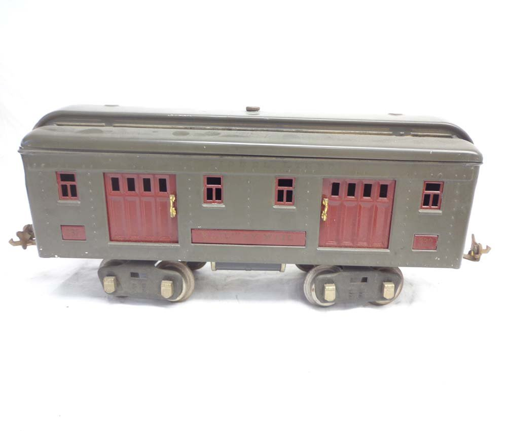 ABT: Lionel Standard Gauge #10 Gray Electric & #332/339 - 10