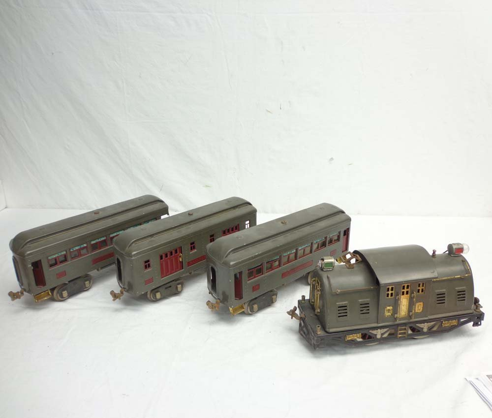ABT: Lionel Standard Gauge #10 Gray Electric & #332/339
