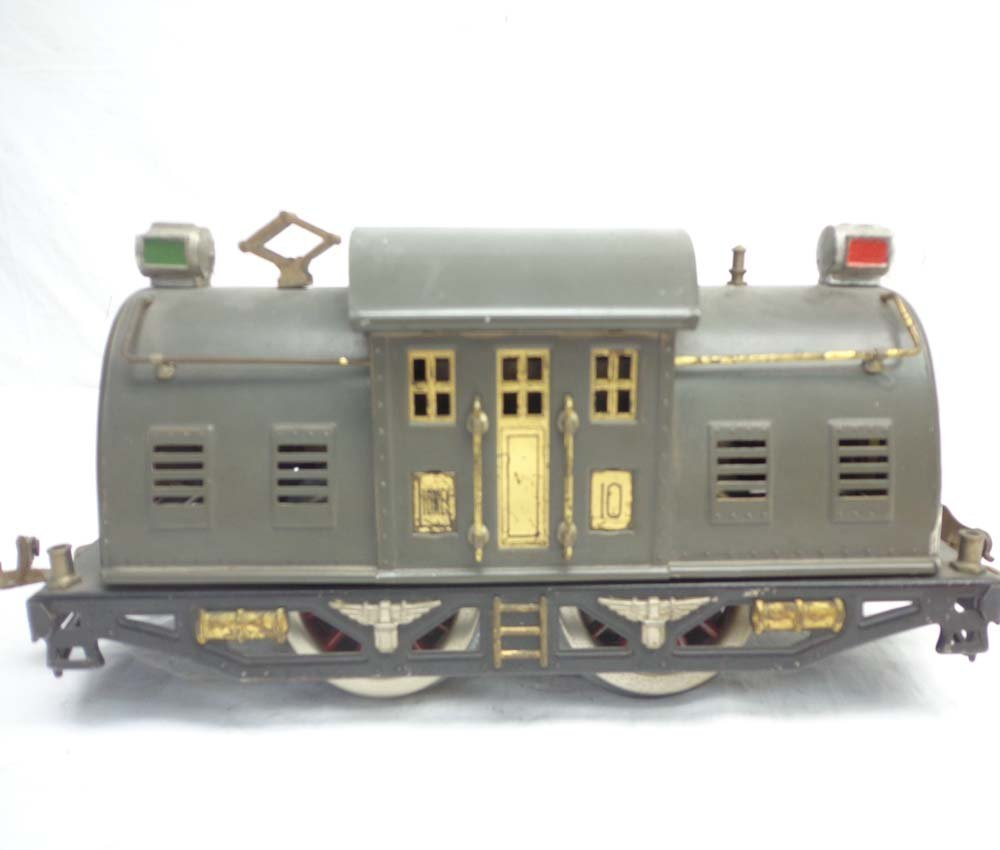 ABT: Lionel Standard Gauge #10 Gray Electric & #332/339 - 3