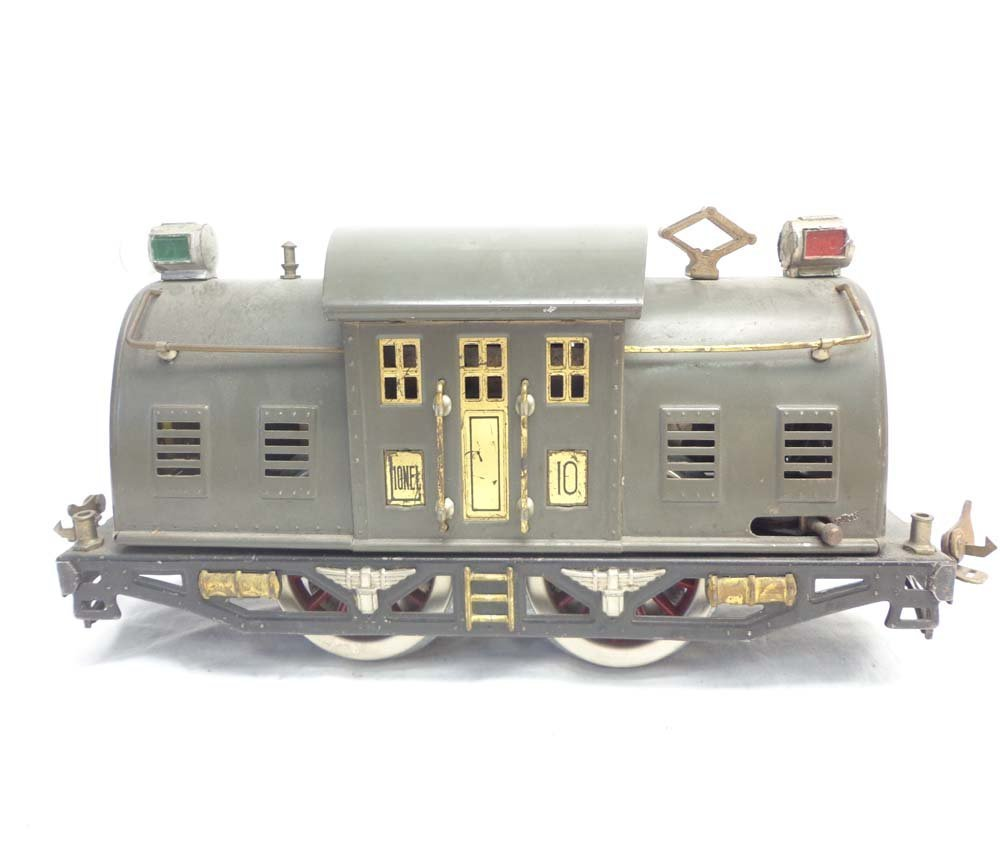 ABT: Lionel Standard Gauge #10 Gray Electric & #332/339 - 6