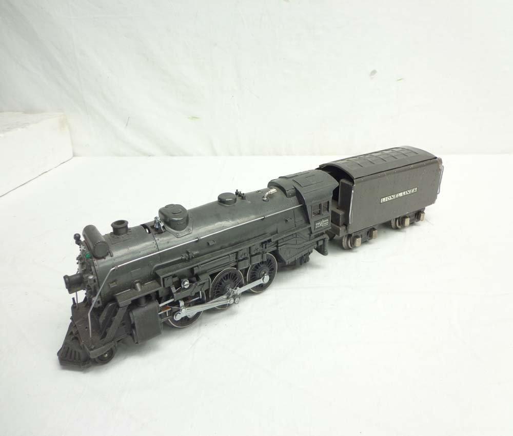 ABT: Lionel Gunmetal #225E Steam Engine & Tender