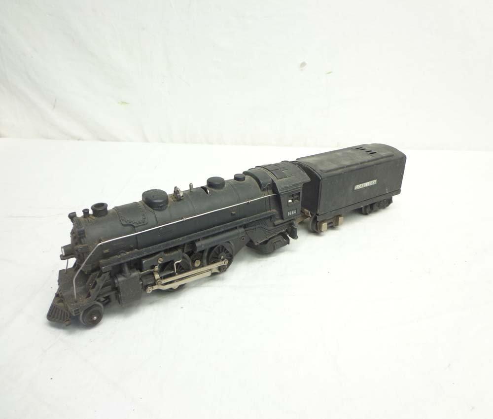 ABT: Lionel #1664 Black Steam Engine & Tender
