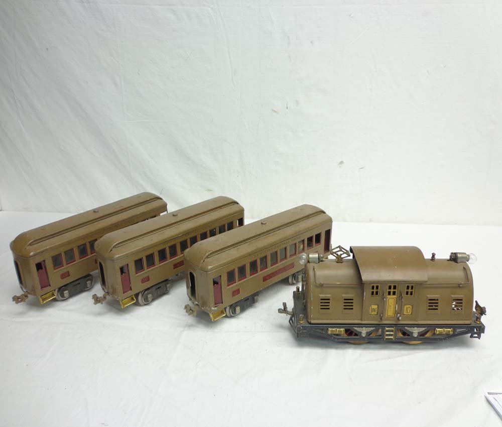 ABT: Lionel #310 Mojave Electric & #337/337/338 Passeng