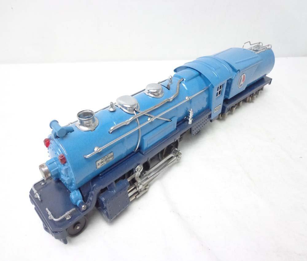 ABT: Lionel #263E Blue Comet Steam Engine & Tender (R)