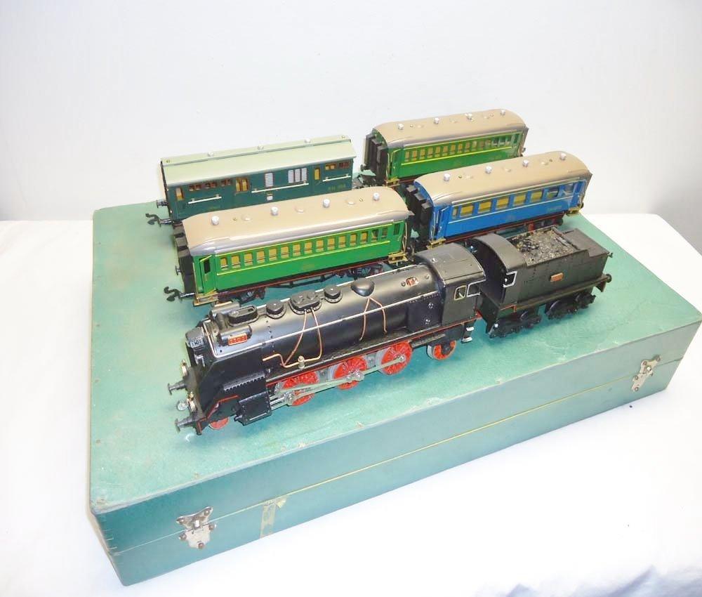 ABT: Amazing Paya 6-item Steam Passenger Set/Wooden OB+