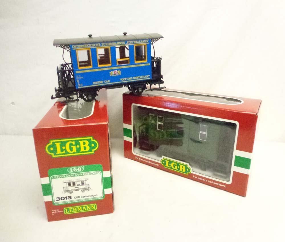 ABT: LGB G Scale: #3013/40390 Passenger Cars/OBs