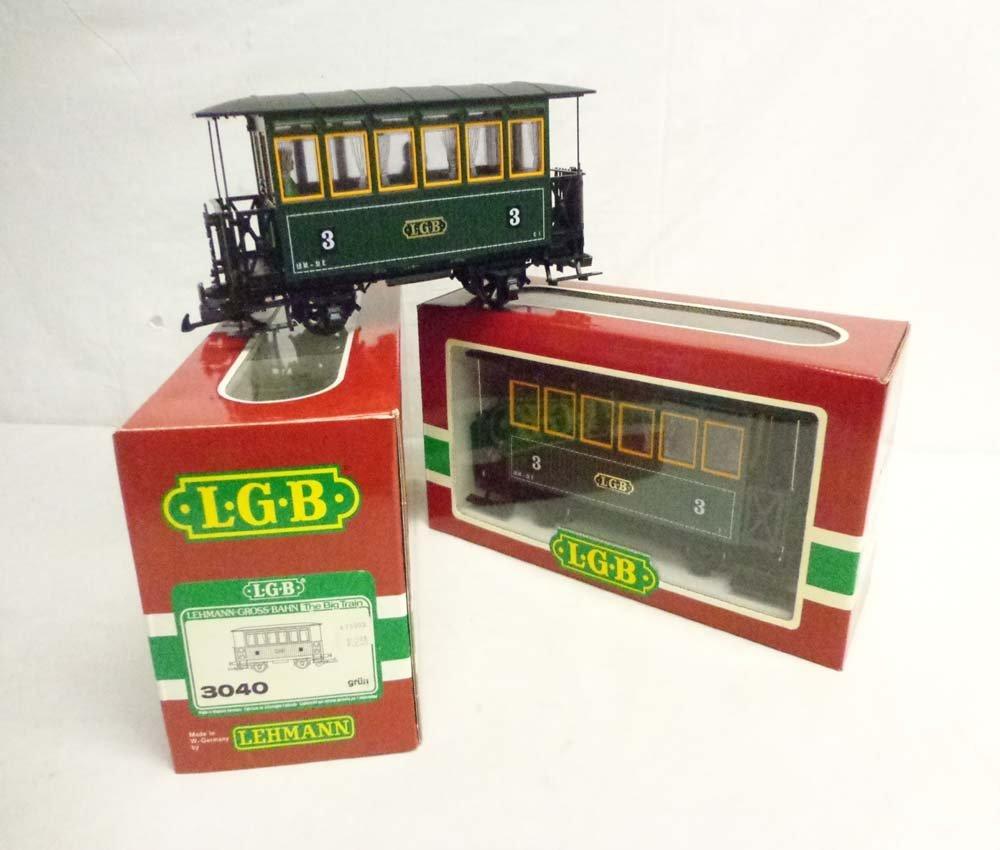 ABT: LGB G Scale: 2 #3040 Passenger Cars/OBs