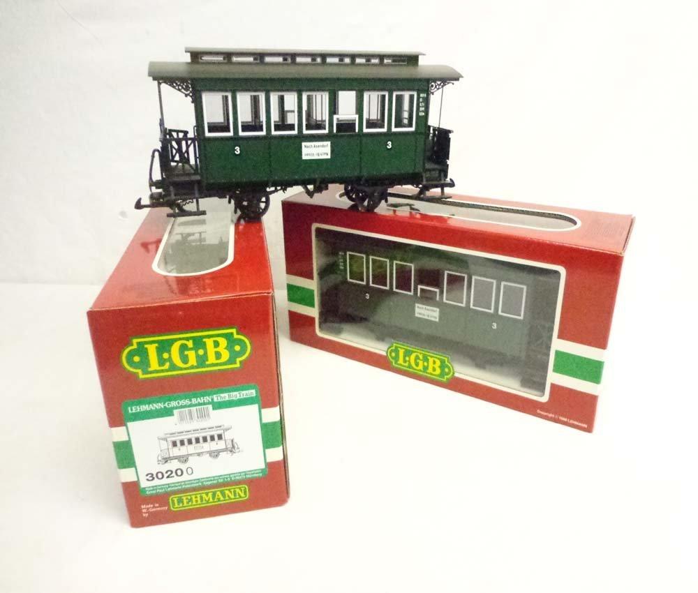 ABT: LGB G Scale: 2 #3020O Passenger Cars/OBs