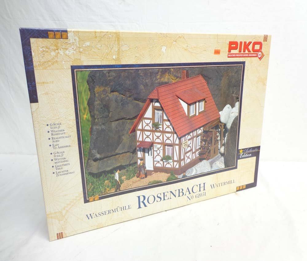 ABT: Piko/LGB G Scale: Mint #62051 Rosenbach Watermill