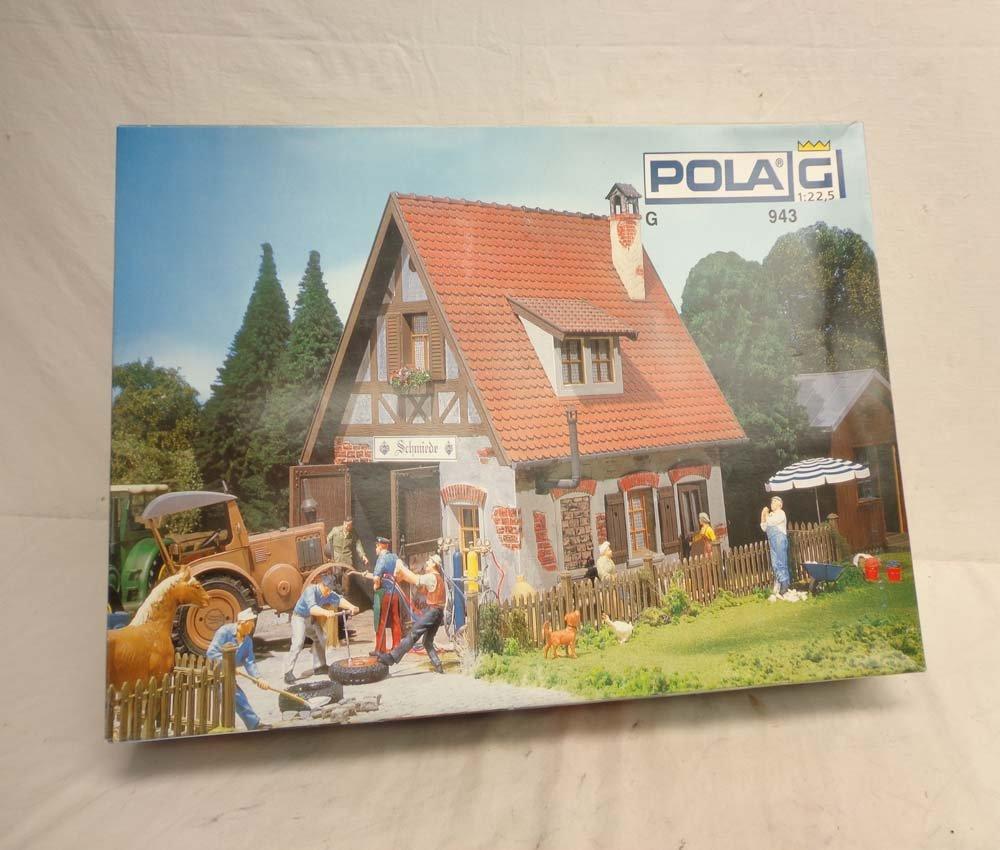 ABT: Pola/LGB G Scale: Mint #943 Village Smithy Buildin