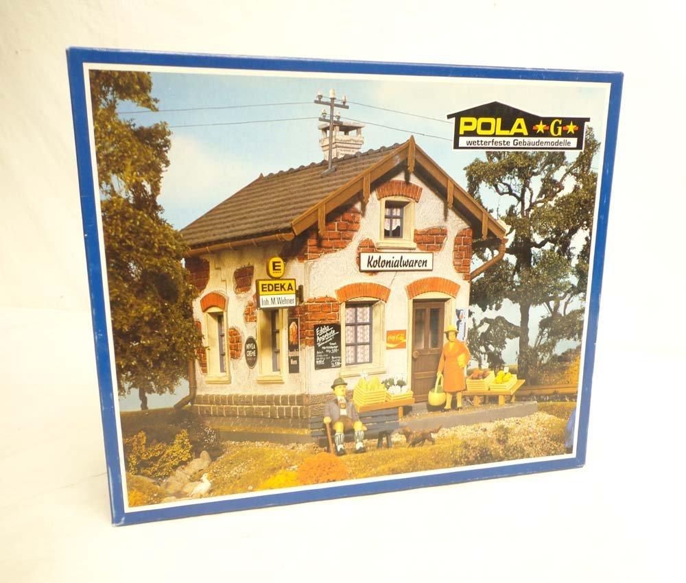 ABT: Pola/LGB G Scale: Mint #981 Corner Shop Building K
