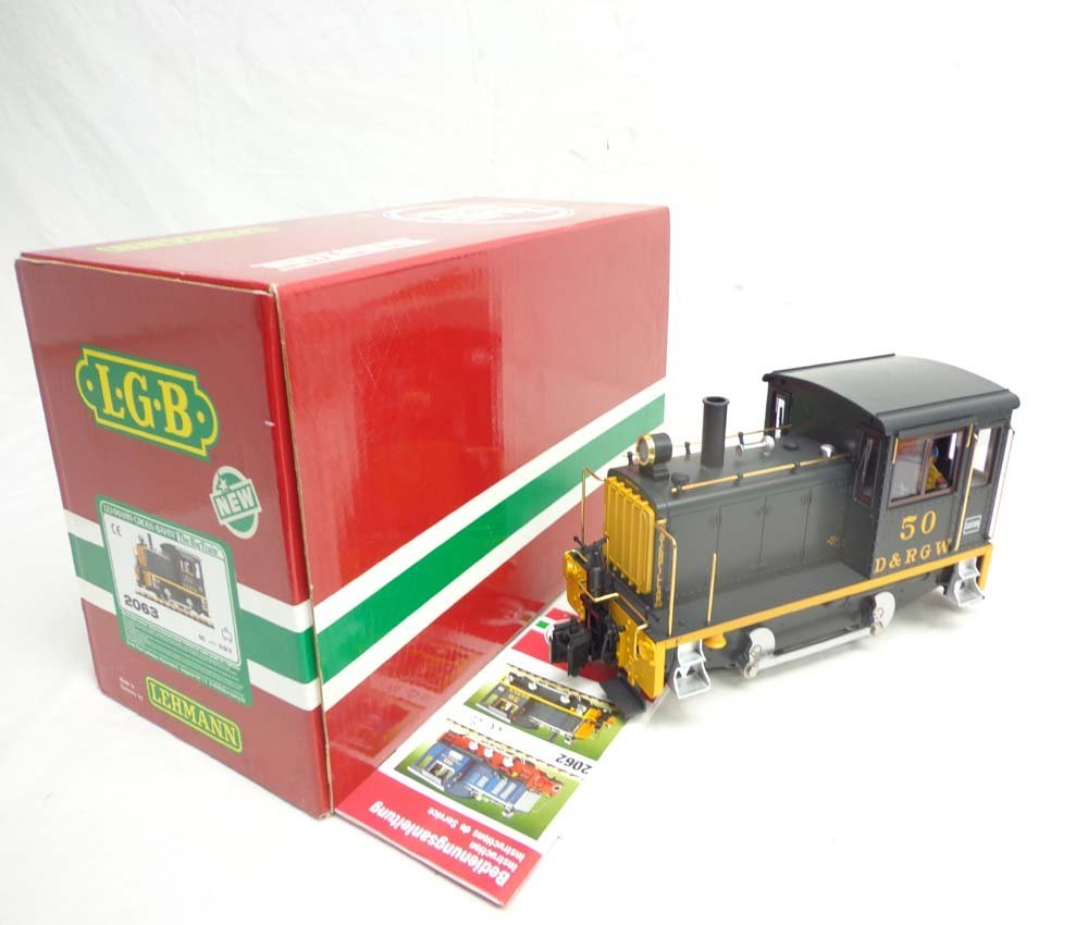 ABT: LGB G Scale: #2063 D & RGW Switcher Locomotive/OB