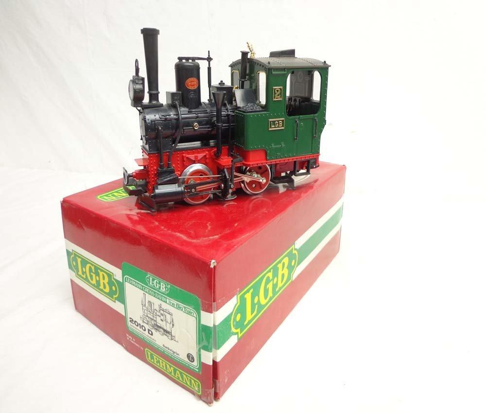 ABT: LGB G Scale: #2010D Steam Engine/OB
