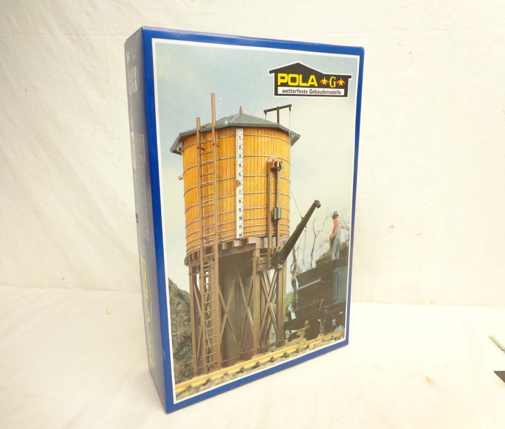 ABT: Pola/LGB G Scale: Mint #923 American Water Tower K