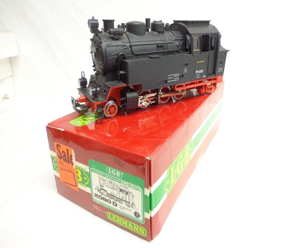 ABT: LGB G Scale: #2080D 2-6-2 Steam Locomotive/OB