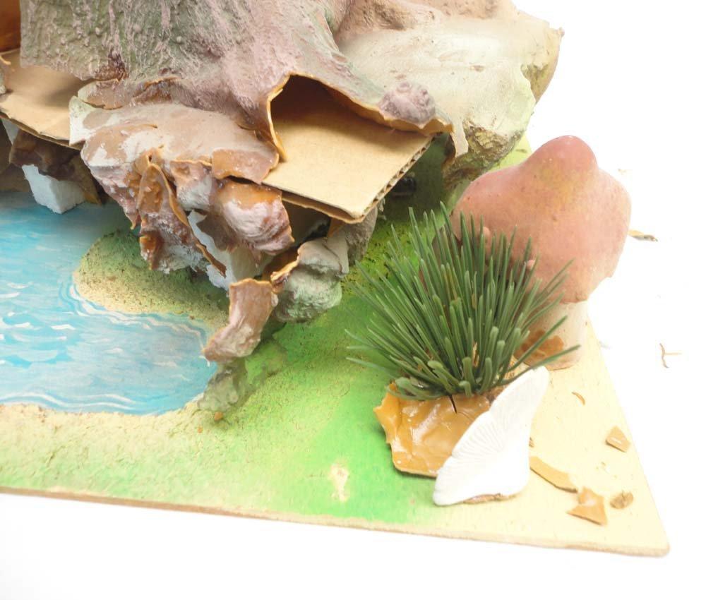 ABT: Schleich Smurf Figurine Playland Tree Stump/OB - 3