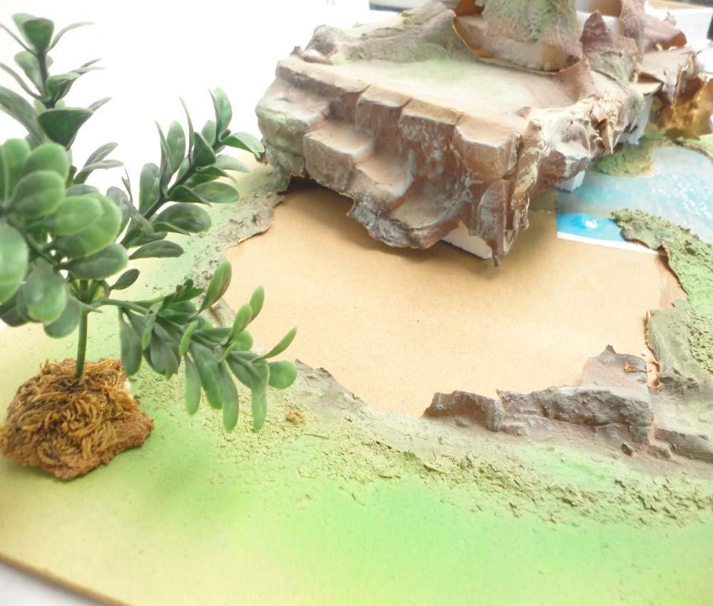 ABT: Schleich Smurf Figurine Playland Tree Stump/OB - 4