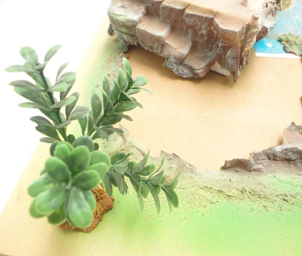 ABT: Schleich Smurf Figurine Playland Tree Stump/OB - 5
