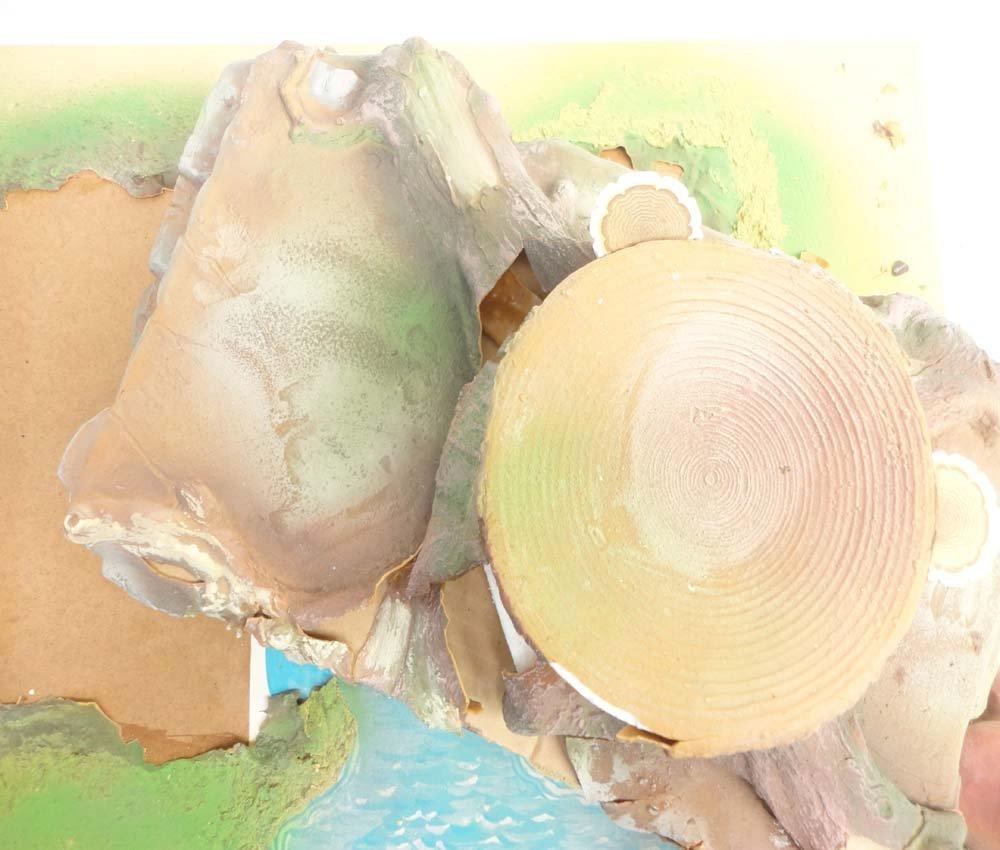 ABT: Schleich Smurf Figurine Playland Tree Stump/OB - 6