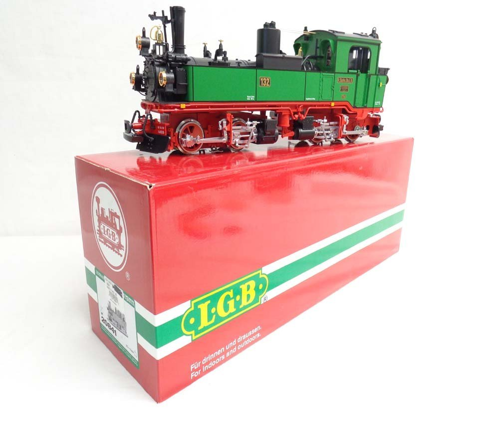 ABT: LGB G Scale: #20841 Locomotive/OB