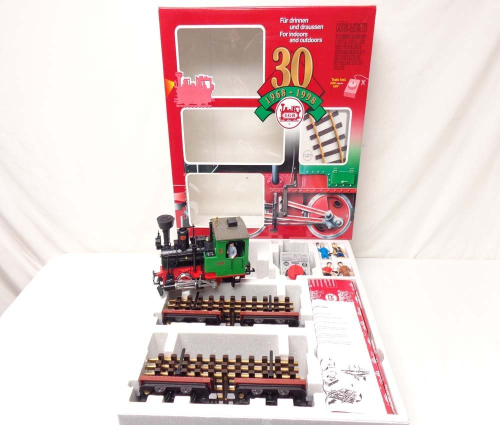 ABT: LGB G Scale: #73968 30th Birthday Starter Set/OB