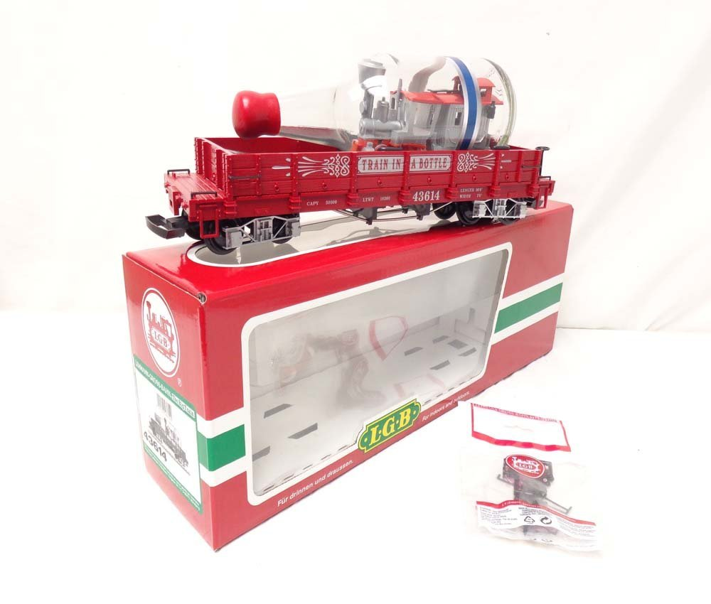 ABT: LGB G Scale: #43614 Train-in-Bottle Gondola/OB