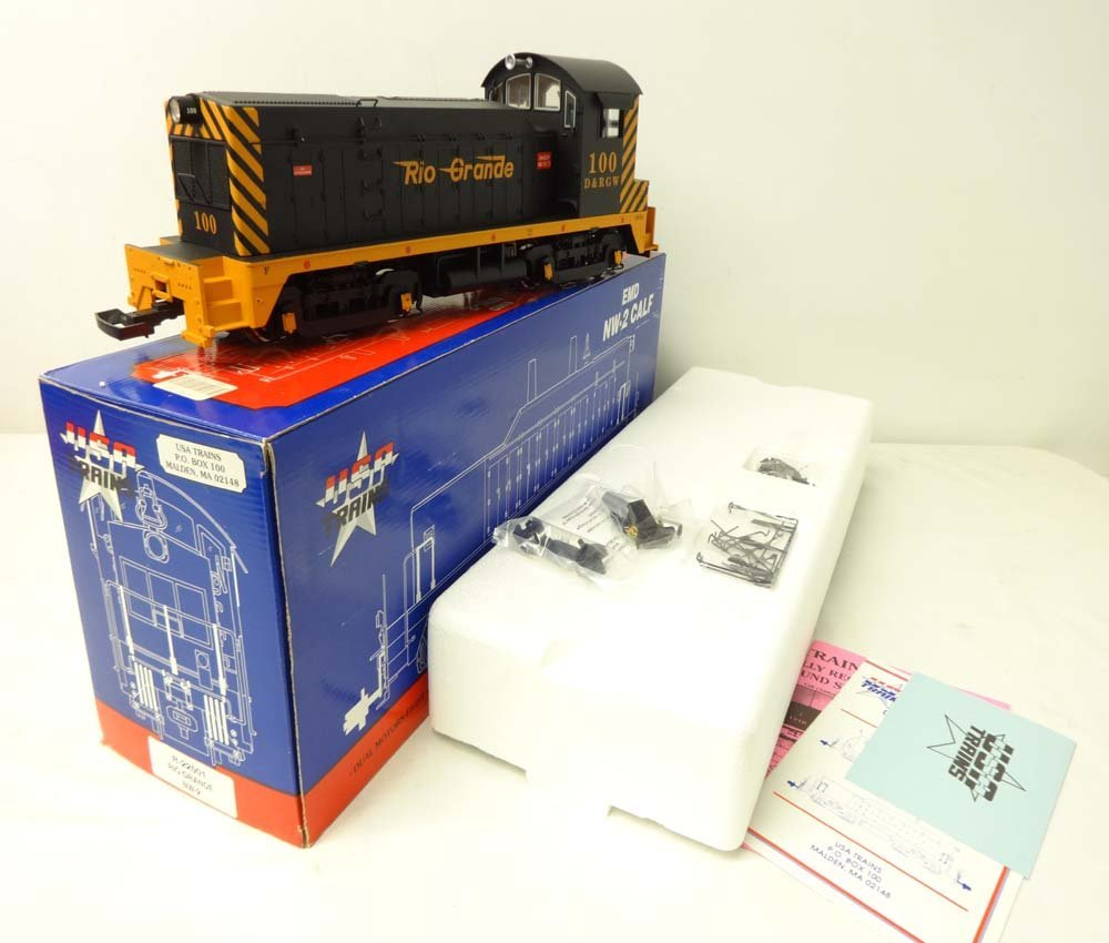 ABT: USA Trains G Gauge: #R-22001 Rio Grande NW-2