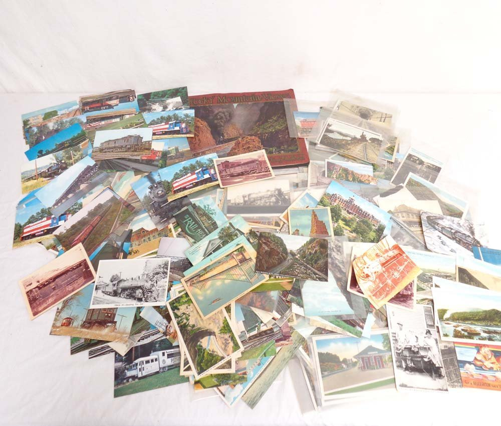 ABT: 200+ Assorted Vintage Post Cards