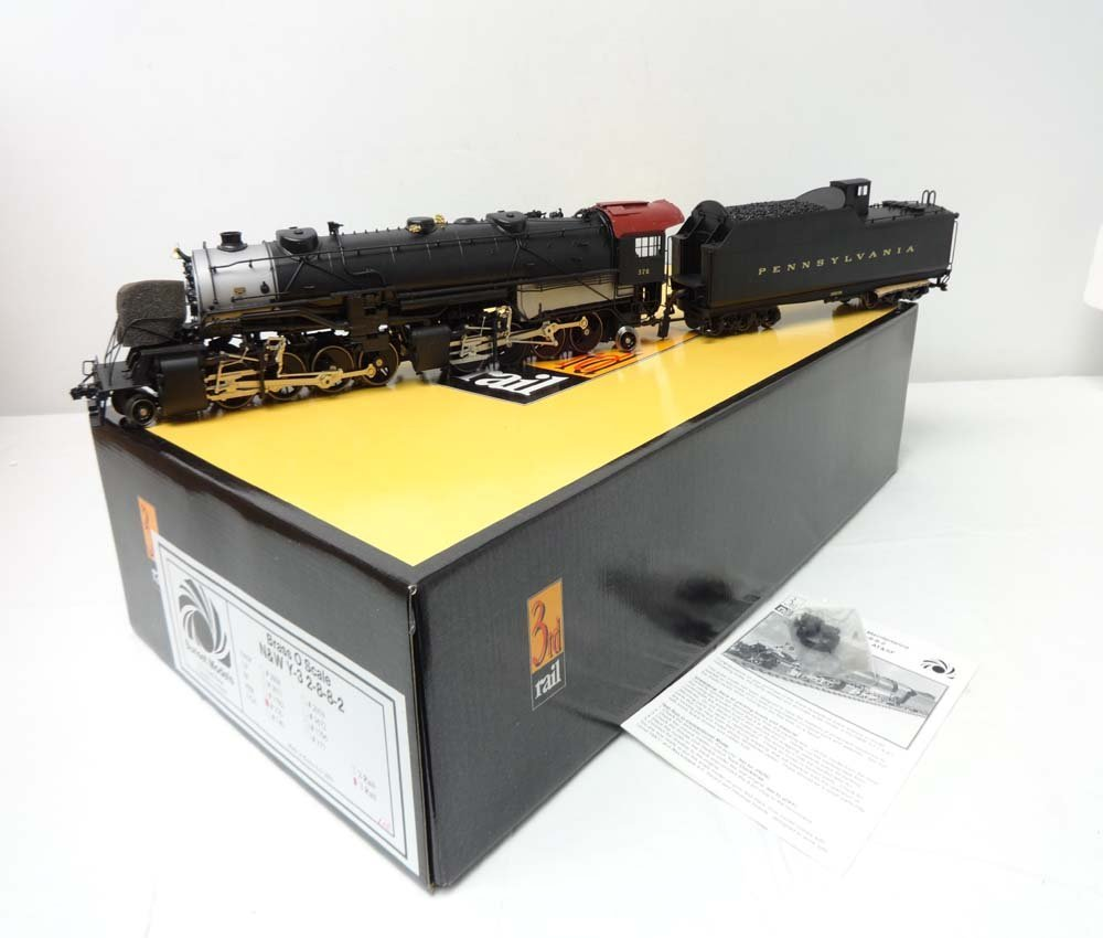 ABT: Brass O Gauge: Sunset Models Y-6 PRR 2-8-8-2