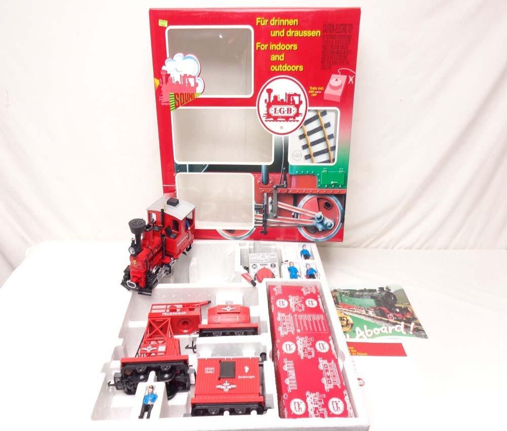 ABT: LGB G Scale: Red # 72940 Work Train Set/OB